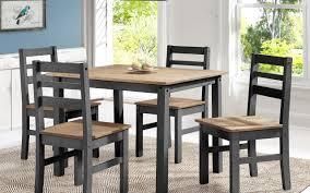 5 Piece Dining Sets Gracie Oaks Robin Solid Wood 5 Piece Dining Set U0026 Reviews Wayfair