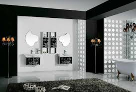 bathroom black and white ideas wall black white and top modern interior design trends