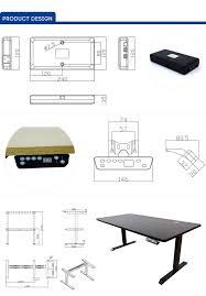 Best Adjustable Height Desks by Best Design Simple Design Uplift Height Adjustable Standing Desk