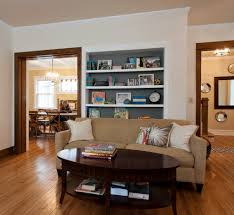 Living Room Colors Oak Trim Contemporary Living Room Children U0027s Books And Family Photo