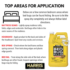 What To Use On Bed Bug Bites Amazon Com Harris Bed Bug Killer Liquid Spray With Odorless And