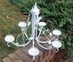 Garden Candle Chandelier Creative Of Outdoor Chandelier Diy Brilliant Mesmerizing Diy Metal
