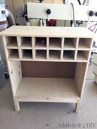 Diy Bar Cabinet Ikea Tarva Hack 3 Drawer Chest To Bar Cabinet