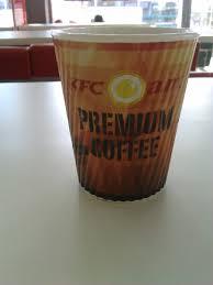 Coffee Kfc now that folks is a kfc coffee cup in cebu philippines photo