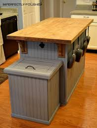 kitchen island with trash bin best 25 trash can covers ideas on outdoor trash cans