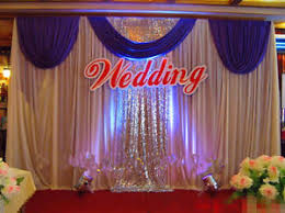 wedding backdrop curtains new wedding stage background decoration welcome curtains reception