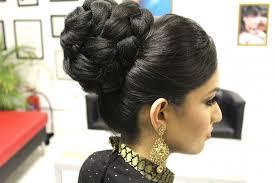 black hair bun wedding hair bun styles tutorial indian bridal hairstyle