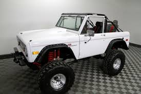 jeep bronco white 1973 ford bronco for sale youtube