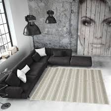 How To Clean Indoor Outdoor Rug New Green Geometric Stripe Non Slip Flatweave Rugs Easy Clean