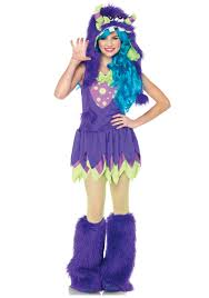 monster halloween costumes for girls