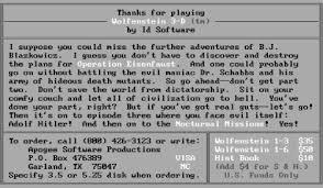 Wolfenstein 3d Maps Wolfenstein 3d 1992 Pc Msdos Gametripper Review