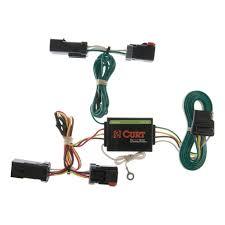 curt manufacturing curt custom wiring harness 55382