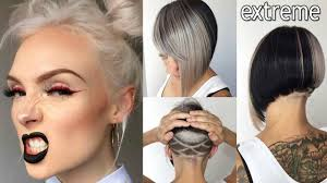 extreme short hairstyles for women 2018 youtube