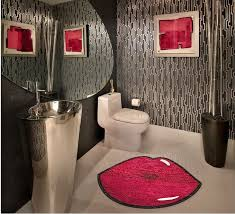 Unique Bathroom Rugs Unique Bathroom Rug Marilynmonroe Lip Custom Rug