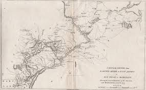Show Me A Map Of Maryland 1800 U0027s Pennsylvania Maps