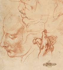 studies for the libyan sibyl recto studies for the libyan sibyl