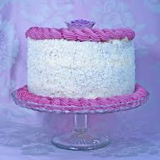 coconut and lavender cake cakecentral com