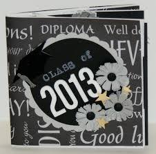 graduation photo album 54 best graduation mini albums images on mini albums