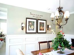 dining room wall ideas how to decorate a dining room wall simple kitchen detail