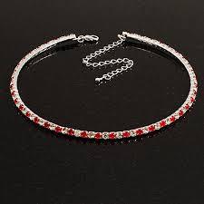 swarovski necklace red images Swarovski crystal chokers jpg