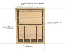 Kitchen Cabinet Building by Ana White Wall Kitchen Cabinet Basic Carcass Plan Diy Projects