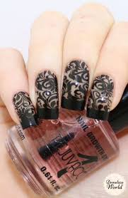 nail art uberchic nail stamping plates review mani mania beauty