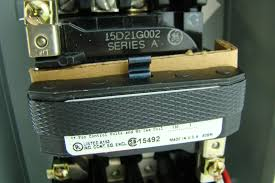 general electric size 00 1ph motor starter 2poles coil 115 120v 1
