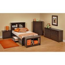 twin platform storage bed espresso twin mate u0027s platform storage bed with 3 drawers free