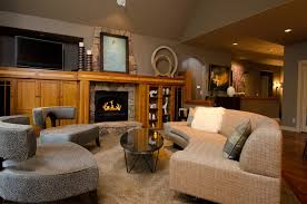 Portland Interior Designers Portland Interior Design Living Room Contemporary With Screen