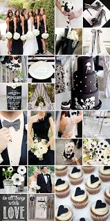 black and white wedding i can see you doing a black and white wedding with pops of