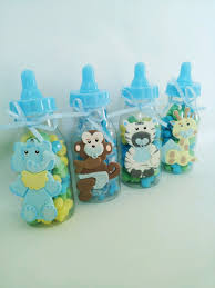 baby shower for boys another idea for the favors filled with candies jungle safari