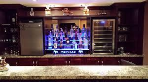 led lighted bar shelves 4 step led liquor shelves back bar shelving for bars restaurants