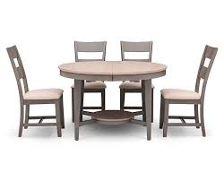 shaker dining room chairs shaker 5 pc rectangle dining room set furniture row
