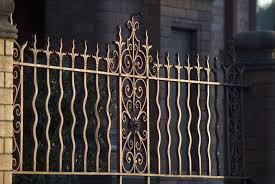 fancy wrought iron gates 3962 stockarch free stock photos