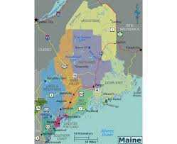 Map Of Portland Me by Maps Of Maine State Collection Of Detailed Maps Of Maine State