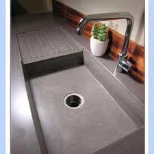 How To Make A Concrete Sink For Bathroom 28 Best Concrete Images On Pinterest Kitchen Kitchen Sink Ideas
