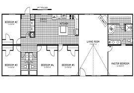 5 bedroom double wide floor plans 5 bedroom double wide trailers floor plans mobile homes ideas