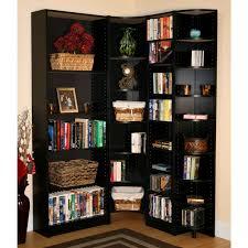 bookshelf stunning ikea corner bookcase bookcases ashley