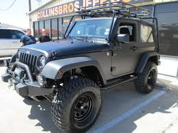 matte grey jeep wrangler 2 door custom built jeeps