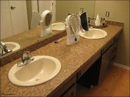 How To Install A Bathroom Sink And Vanity Installing Bathroom Vanity Top Unique Bathroom Countertop Laminate