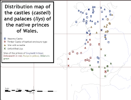 Map Of Wales The Gatehouse Website Distribution Maps Of The Medieval
