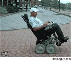 Wheelchair Meme - wheelchair fall recovery wheels meme guy