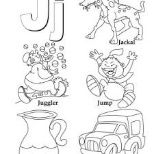 words begin with letter j coloring page bulk color