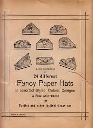 vintage german crepe paper party hats lex u0027s lols i literally