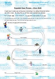 expanded noun phrases story walk teach my kids