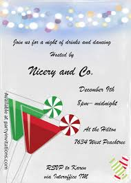 couple of drinks cocktail party invitations christmas cocktail