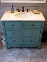 Dresser Style Bathroom Vanity by A Beautiful Bathroom Vanity Made Out Of An Old Chest Of Drawers