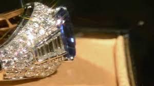 bvlgari vintage rings images Vintage bvlgari 18k white gold sapphire diamond ring bvl01 jpg