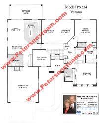 sun city grand floor plans p9105 verbena 2019 p9234 verano