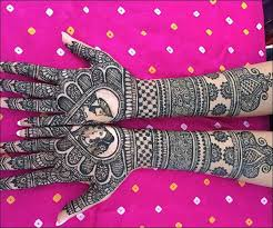 top lovely floral mehendi designs or flower henna designs for